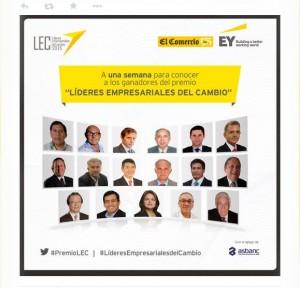 Finalistas Premio LEC 2015