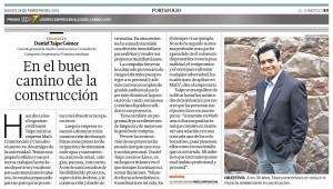 Art??culo publicado el 26 de febrero de 2015, en el Diario El Comercio.